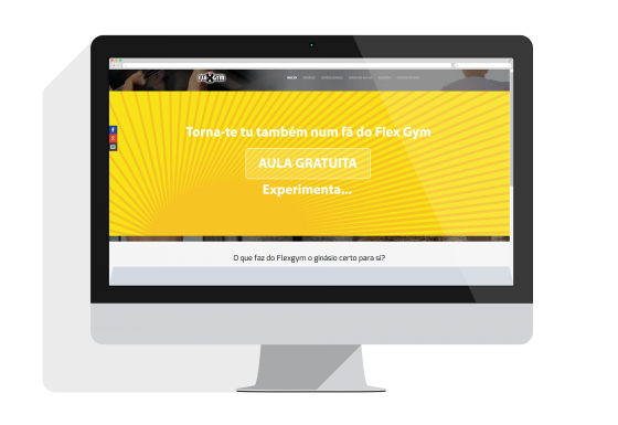 Website Flex Gym