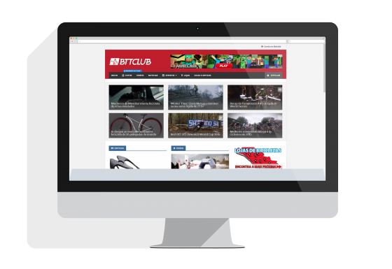 Website Btt Club